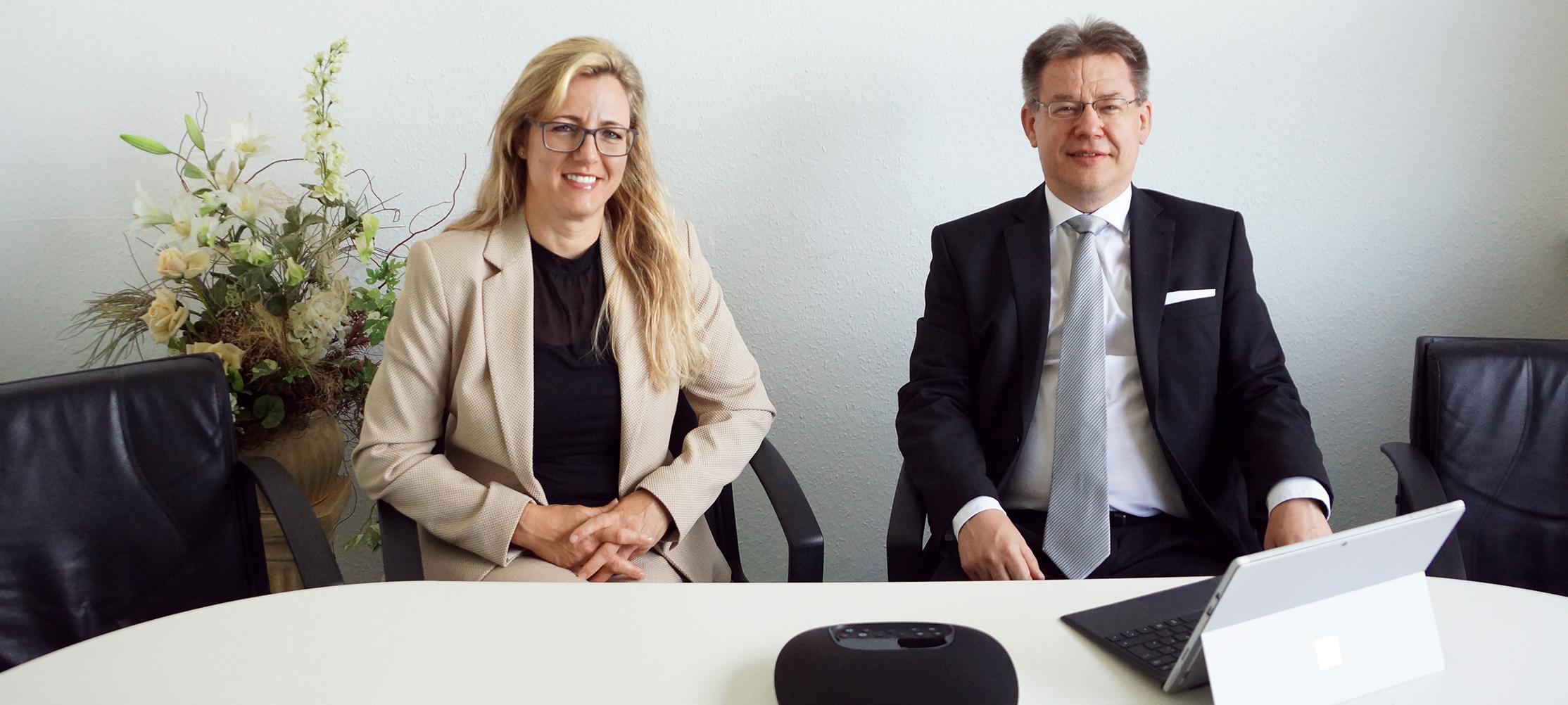 Yvonne Vasters und Michael Knorre